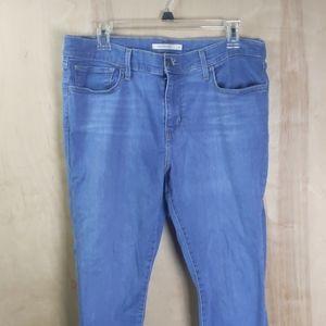 Light blue Levi super skinny  jeans